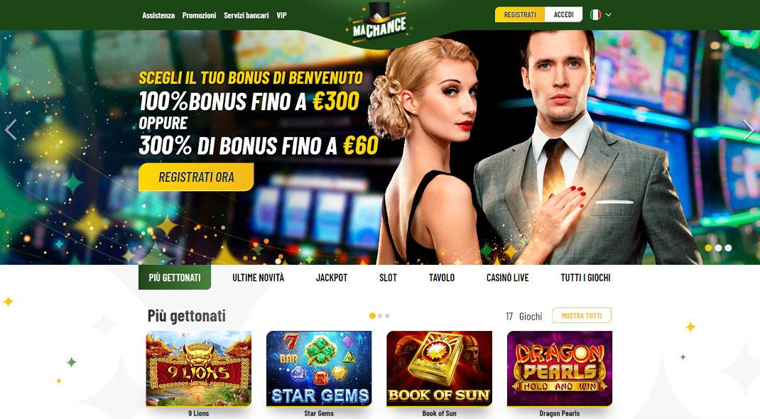 Machance Casino Recensione