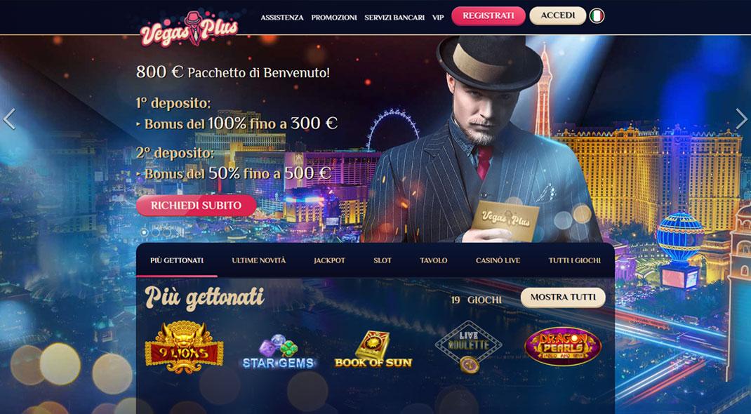 Vegasplus Casino recensioni